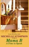 A Time to Speak - Michelle Stimpson
