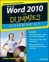 Word 2010 eLearning Kit for Dummies [With CDROM] - Lois Lowe, Faithe Wempen