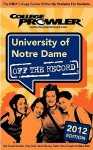 University of Notre Dame 2012: Off the Record - Alex Barker