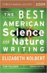 The Best American Science and Nature Writing 2009 - Elizabeth Kolbert, Tim Folger