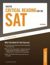Master Critical Reading for the SAT: What You Need for Test Success - Peterson's, Peterson's