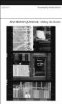 Hitting the Streets - Raymond Queneau, Rachel Galvin