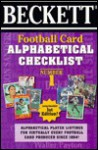 Beckett Football Card Alphabetical Checklist - Beckett Publishing, Dan Hitt