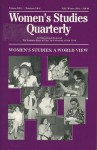 Women's Studies Quarterly (94:3-4): Women's Studies: A World View - Florence Howe, Nancy Porter