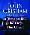 John Grisham Value Collection: A Time to Kill, The Firm, The Client - Blair Brown, John Grisham, Michael Beck, D.W. Moffett