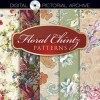 Floral Chintz Patterns: Includes CD-ROM - Dover Publications Inc., Robert Schein