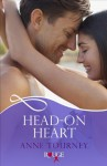 Head-On Heart: A Rouge Erotic Romance - Anne Tourney