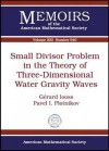 Small Divisor Problem in the Theory of Three-Dimensional Water Gravity Waves - Gerard Iooss, Pavel I. Plotnikov