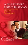 A Billionaire for Christmas (Mills & Boon Desire) (Billionaires and Babies - Book 41) - Janice Maynard