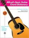 Alfred's Basic Guitar Chord Dictionary - Morton Manus