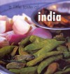 A Little Taste of India - Priya Wickramasinghe