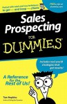 Sales Prospecting for Dummies - Tom Hopkins