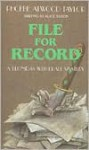 File for Record - Phoebe Atwood Taylor, Alice Tilton