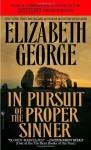 In Pursuit of the Proper Sinner - Elizabeth George, Donada Peters