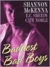 Baddest Bad Boys - Shannon McKenna, Cate Noble, E.C. Sheedy