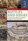 Dictionary of Battles and Sieges [3 Volumes]: A Guide to 8,500 Battles from Antiquity Through the Twenty-First Century - Tony Jaques, Dennis E. Showalter