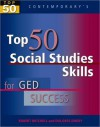 Top 50 Social Studies Skills for GED Success - Student Text Only - Robert Mitchell