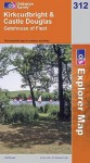 Map: Kirkcudbright And Castle Douglas (Os Explorer Map) - NOT A BOOK