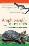 Amphibians & Reptiles of the Carolinas and Virginia - Jeffrey C. Beane, Joseph C. Mitchell, William M. Palmer, Alvin L. Braswell, Jack Dermid