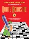 Quote Acrostic #5 - Charles Preston