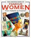 The Usborne Book Of Famous Women - Richard Dungworth