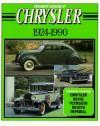 Standard Catalog Of Chrysler, 1924 1990 - John Lee