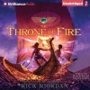 The Throne of Fire - Rick Riordan, Kevin R. Free, Katherine Kellgren