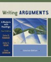 Writing Arguments: A Rhetoric with Readings, Concise Edition (4th Edition) - John D. Ramage, John C. Bean, June Johnson, John Bean