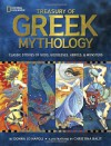 Treasury of Greek Mythology: Classic Stories of Gods, Goddesses, Heroes & Monsters - Donna Jo Napoli, Christina Balit