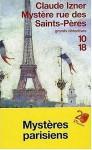 Les Enquêtes de Victor Legris, tome 1 : Mystère rue des Saint-Pères - Claude Izner