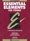 Essential Elements for Strings, Book One: Piano Accompaniment: A Comprehensive String Method - Allen Gillespie Hayes, Pamela Tellejohn Hayes, Robert Gillespie, John Higgins, Bill Boyd, Allen Gillespie Hayes