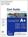 CompTIA A+ 220-701 and 220-702 Cert Guide - Mark Soper, Scott Mueller, David Prowse