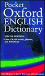 Pocket Oxford English Dictionary - Oxford University Press, F.G. Fowler, H.W. Fowler