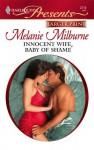 Innocent Wife, Baby of Shame - Melanie Milburne