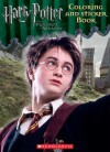 Harry Potter and the Prisoner of Azkaban Coloring And Sticker Book - Maria Stasavage, Randi Reisfeld