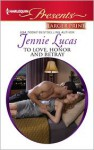 To Love, Honour and Betray - Jennie Lucas