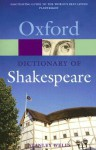 A Dictionary of Shakespeare - Stanley Wells, James Shaw