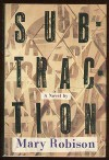 Subtraction - Mary Robison