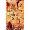 Figures in Silk (Large Print) - Vanora Bennett