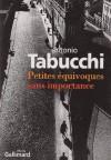 Petits Malentendus Sans Importance - Antonio Tabucchi