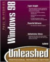 Paul McFedries' Windows 98 Unleashed [With Contains Technet Sampler, Windows 98 Knowledge...] - Paul McFedries