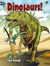 Dinosaurs! Coloring Book - Jan Sovak