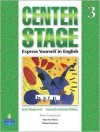 Center Stage 3 Student Book - Irene Frankel, Samuela Eckstut