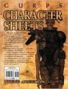 Gurps Character Sheets (Summer of Horror - Steve Jackson Games