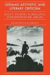 German Aesthetic Literary Criticism - David Simpson