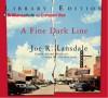 A Fine Dark Line - Joe R. Lansdale, Dick Hill