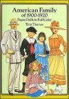 American Family of 1900-1920 Paper Dolls in Full Color - Tom Tierney