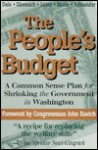 The People's Budget: A Practical Plan for Shrinking Government Waste - Frank Luntz, William Schneider, Timothy J. Muris
