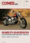 Clymer Harley-Davidson Fx/FL Softail Big-Twin Evolution, 1984-1999 - Clymer Publishing