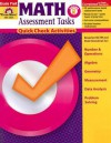 Math Assessment Tasks, Grade Pre K: Quick Check Activities - Evan-Moor Educational Publishing, Becky Dios